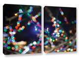 Bokeh 3, 2 Piece Gallery-Wrapped Canvas Set Print by Cody York