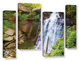 Brandywine Falls 2, 4 Piece Gallery-Wrapped Canvas Staggered Set Prints by Cody York