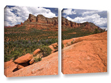 Sedona, 2 Piece Gallery-Wrapped Canvas Set Prints by Cody York