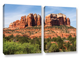 Sedona 2, 2 Piece Gallery-Wrapped Canvas Set Print by Cody York
