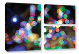 Bokeh 2, 3 Piece Gallery-Wrapped Canvas Flag Set Posters by Cody York