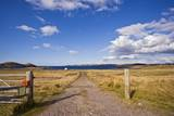 Dirt Track Leading through Fields,Poolewe, Scotland, United Kingdom Photographic Print by Stefano Amantini