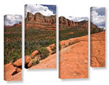 Sedona, 4 Piece Gallery-Wrapped Canvas Staggered Set Art by Cody York