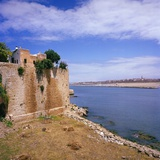 Morocco, Rabat, Walls of Kasbah Des Oudaias Photographic Print by Massimo Borchi