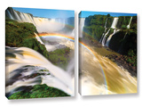Iguassu Falls 2, 2 Piece Gallery-Wrapped Canvas Set Posters by Cody York