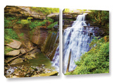 Brandywine Falls 2, 2 Piece Gallery-Wrapped Canvas Set Prints by Cody York