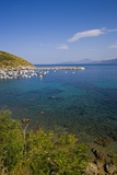 View of Bay and Harbor, Palinuro, Campania, Italy Photographic Print by Stefano Amantini