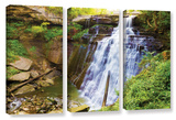 Brandywine Falls 2, 3 Piece Gallery-Wrapped Canvas Set Print by Cody York