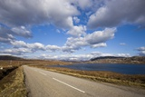 Landscape with Road, Lake and Clouds,Scotland, United Kingdom Photographic Print by Stefano Amantini