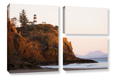 Lighthouse, 3 Piece Gallery-Wrapped Canvas Flag Set Prints by Cody York
