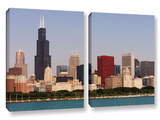 Chicago, 2 Piece Gallery-Wrapped Canvas Set Posters by Cody York