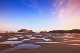 Sunrise Tide Pools at Low Tide, Bandon Beach, Oregon, USA Photographic Print by Craig Tuttle