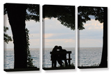 Silhouette, 3 Piece Gallery-Wrapped Canvas Set Print by Cody York