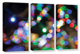 Bokeh 2, 3 Piece Gallery-Wrapped Canvas Set Art by Cody York