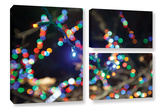 Bokeh 3, 3 Piece Gallery-Wrapped Canvas Flag Set Prints by Cody York