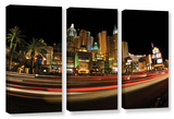 New York, New York, 3 Piece Gallery-Wrapped Canvas Set Gallery Wrapped Canvas Set by Cody York