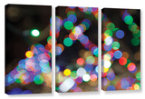 Bokeh 1, 3 Piece Gallery-Wrapped Canvas Set Prints by Cody York