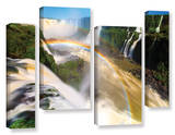 Iguassu Falls 2, 4 Piece Gallery-Wrapped Canvas Staggered Set Art by Cody York