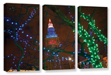 Terminal Tower, 3 Piece Gallery-Wrapped Canvas Set Posters by Cody York