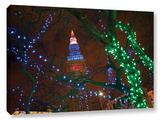 Terminal Tower, Gallery-Wrapped Canvas Stretched Canvas Print by Cody York