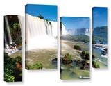 Iguassu Falls 3, 4 Piece Gallery-Wrapped Canvas Staggered Set Art by Cody York