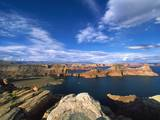 View on Padre Bay, Lake Powell, Utah, USA Photographic Print by Stefano Amantini
