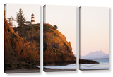 Lighthouse, 3 Piece Gallery-Wrapped Canvas Set Posters by Cody York