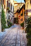 Street in Spello, Italy Photographic Print by Terry Eggers