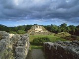 Maya Ruins Photographic Print by Guido Cozzi