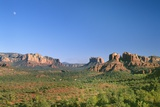 View of Cathedral Rock in Verde Valley, Sedona, Arizona, USA Photographic Print by Massimo Borchi