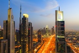 Dubai Cityscape Photographic Print by Fraser Hall