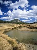 Landscape with Stream, Rocky Mountain National Park, Colorado, USA Photographic Print by Massimo Borchi