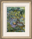 Water Lilies, Nympheas Prints by Claude Monet
