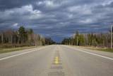 Highway on Upper Peninsula, Michigan Photographic Print by Paul Souders