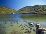 View of Echo Lake, White Mountains, New Hampshire, USA Photographic Print by Massimo Borchi