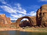 View of Rainbow Bridge, Lake Powell, Utah, USA Photographic Print by Stefano Amantini