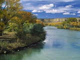 View of Animas River, New Mexico, USA Photographic Print by Massimo Borchi