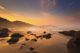 Sunrise over Crescent Beach, Oregon Coast, Pacific Ocean, Pacific Northwest Photographic Print by Craig Tuttle