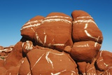 Sandstone Erosion Landscape in Blue Canyon Photographic Print by Frank Krahmer