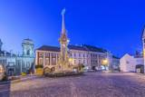 Mikulov Town Square at Dawn Photographic Print by Rob Tilley