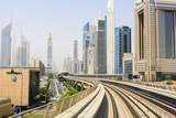 Metro, Dubai, United Arab Emirates Photographic Print by Fraser Hall