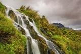 Waterfall near Old Man of Storr Photographic Print by Frank Krahmer