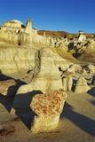 Sandstone Erosion Landscape in Bisti Badlands Photographic Print by Frank Krahmer