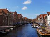 Canal Scenes in the City of Alkmaar Photographic Print by Terry Eggers