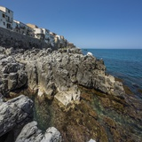 Rocks on the Northern Coast near the Village Photographic Print by Massimo Borchi
