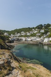 Polperro is a Village with Beautiful Ancient Houses along a Canal Photographic Print by Guido Cozzi