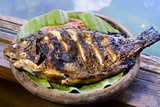 Grilled Nila Fish, Served with Banana Leave Photographic Print by Fadil Aziz/Alcibbum Photography