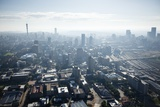 Aerial View of Johannesburg, South Africa Photographic Print by Richard Du Toit
