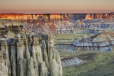 Sandstone Erosion Landscape in Coalmine Canyon Photographic Print by Frank Krahmer