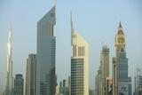 Cityscape, Dubai Photographic Print by Fraser Hall